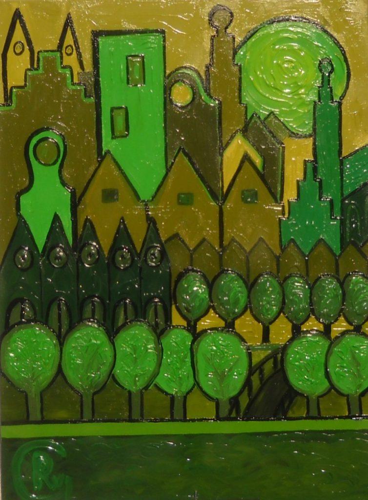 Capitale en vert