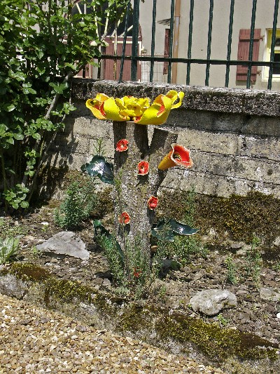 Keramische bloem