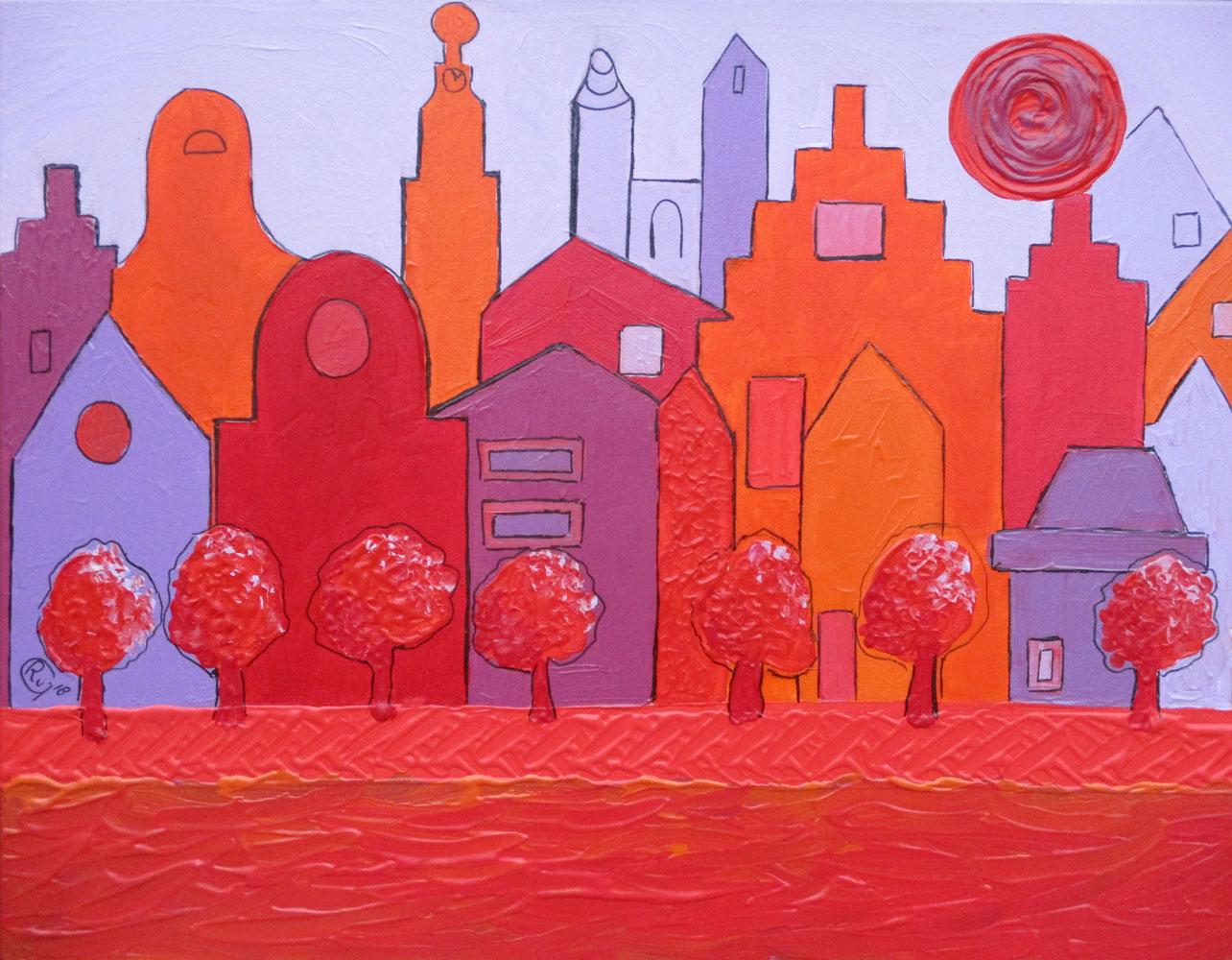 amsterdam-roze-oranje-paars
